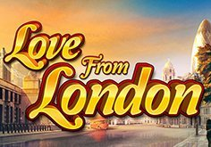 Love From London Pokie Logo