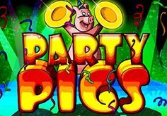 Party Pigs Pokie Logo
