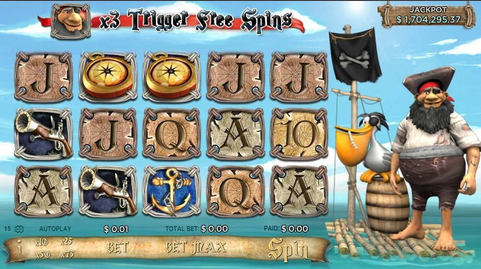 Pirates 8217 Millions Pokie