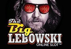 The Big Lebowski Pokie Logo