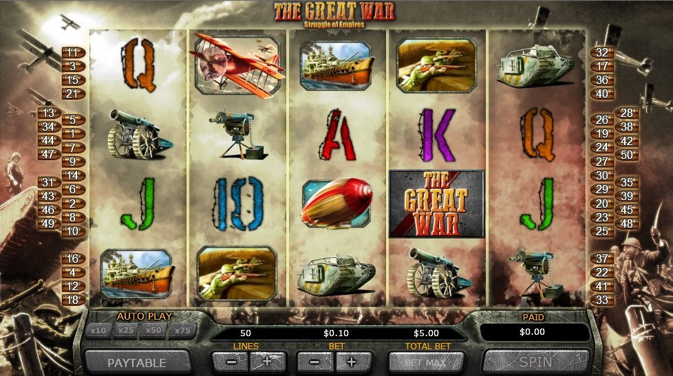 The Great War Pokie