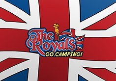 The Royals Go Camping Pokie Logo