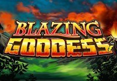 Blazing Goddess Pokie Logo