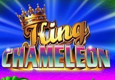 King Chameleon Pokie Logo