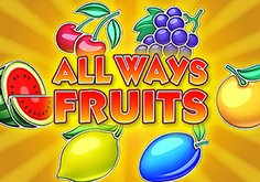 All Ways Fruits Pokie Logo
