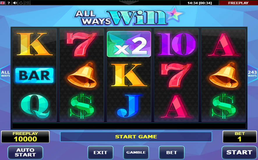 All Ways Win Pokie