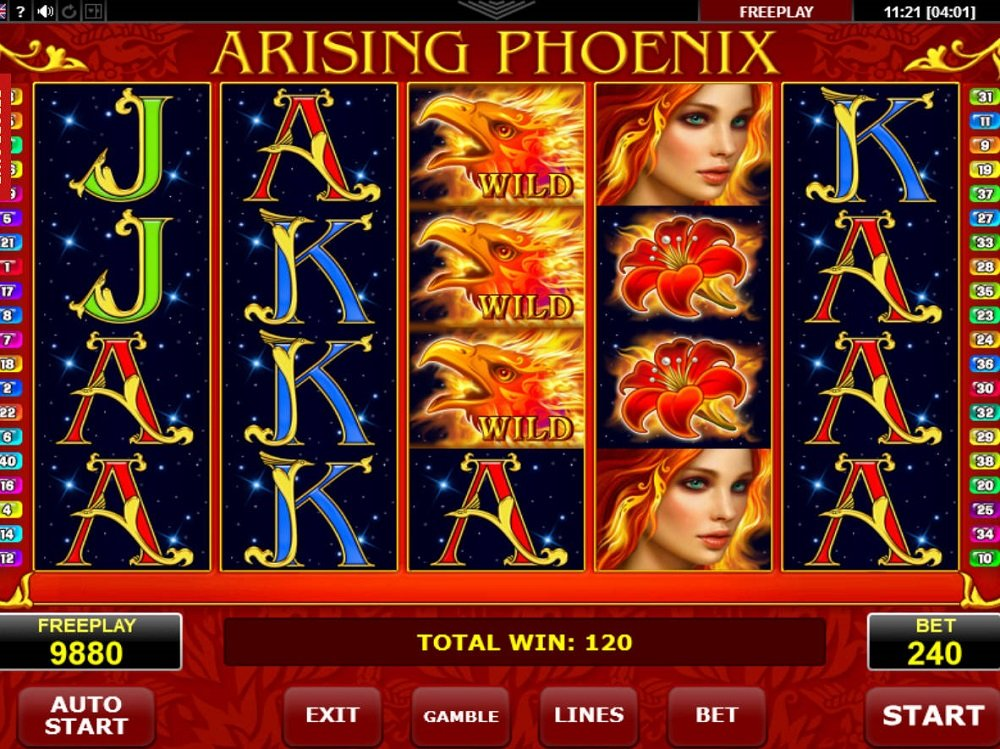 Arising Phoenix Pokie