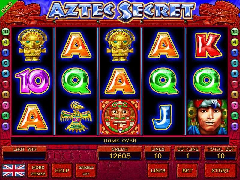 Aztec Secret Pokie