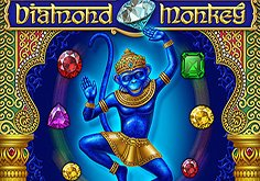 Diamond Monkey Pokie Logo