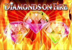 Diamonds On Fire Pokie Logo