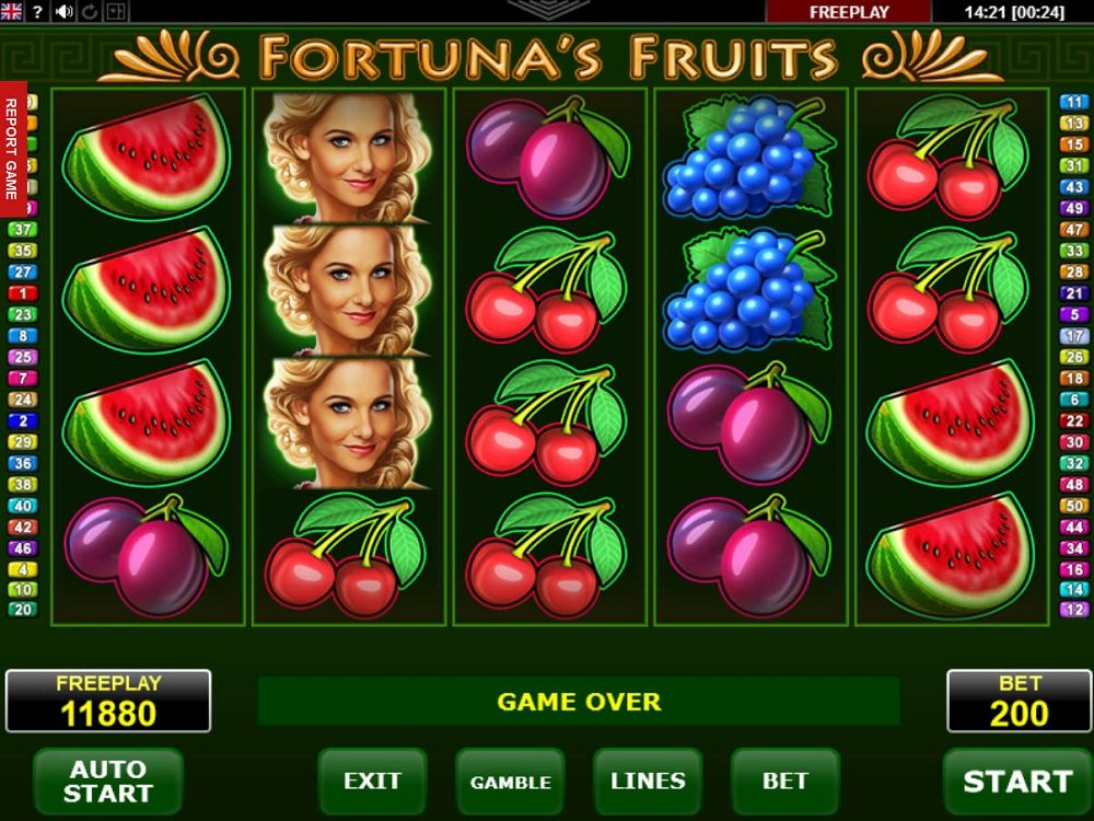 Fortuna 8217s Fruits Pokie