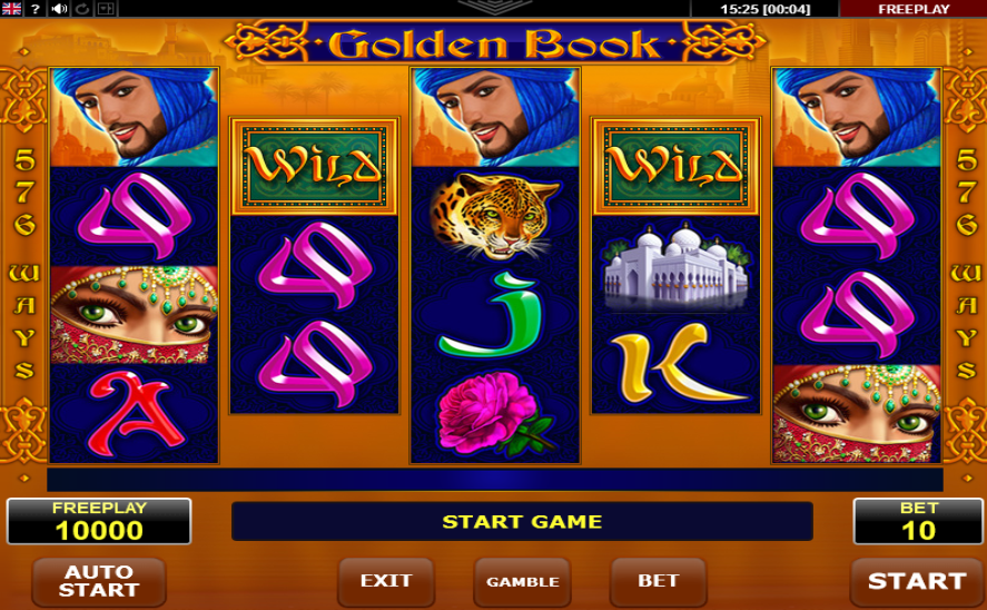 Golden Book Pokie