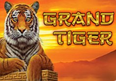 Grand Tiger Pokie Logo