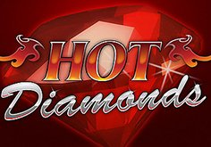 Hot Diamonds Pokie Logo