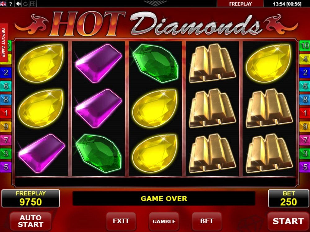 Hot Diamonds Pokie