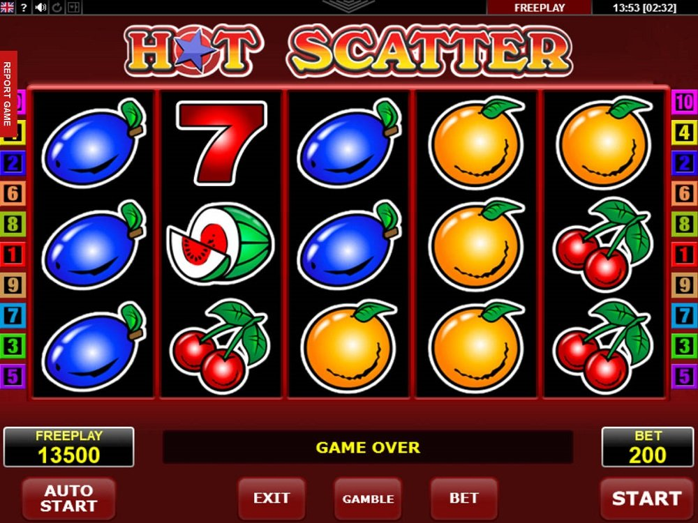 Hot Scatter Pokie