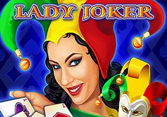 Lady Joker Pokie Logo