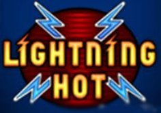 Lightning Hot Pokie Logo