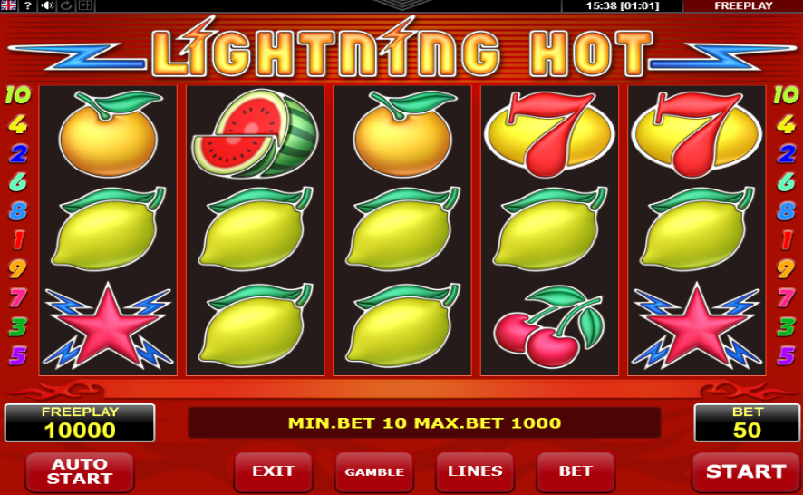 Lightning Hot Pokie