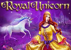 Royal Unicorn Pokie Logo