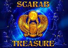 Scarab Treasure Pokie Logo