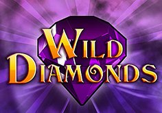 Wild Diamonds Pokie Logo