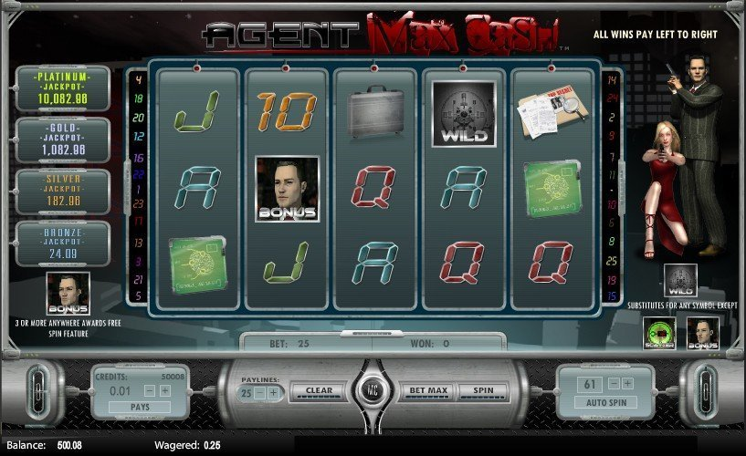 Agent Max Cash Pokie