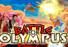 Battle For Olympus Pokie Logo