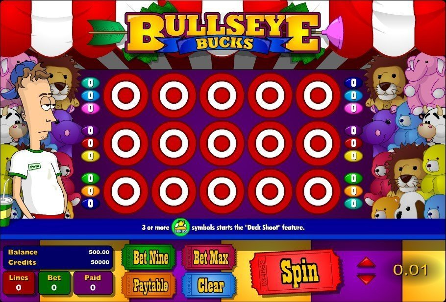 Bullseye Bucks Pokie