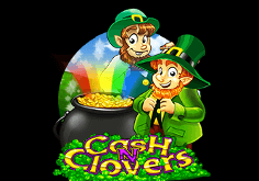 Cash N Clovers Pokie Logo
