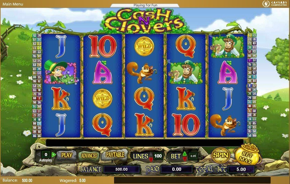 Cash N Clovers Pokie