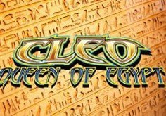Cleo Queen Of Egypt Pokie Logo