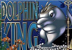 Dolphin King Pokie Logo