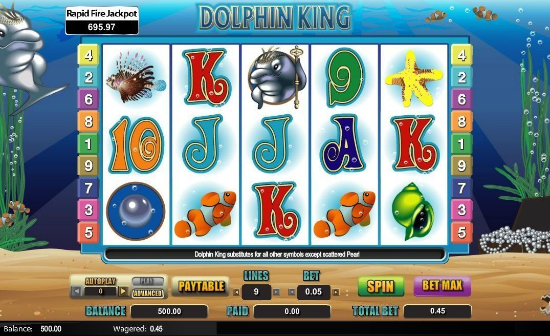 Dolphin King Pokie