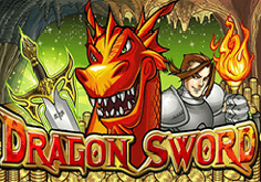 Dragon Sword Pokie Logo