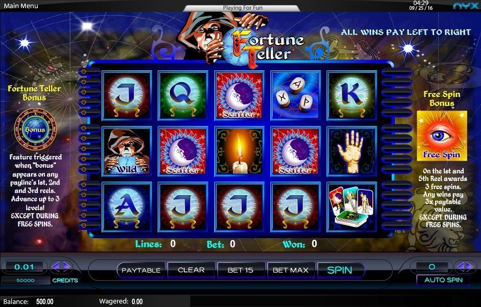 Fortune Teller Pokie