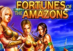 Fortunes Of The Amazons Pokie Logo