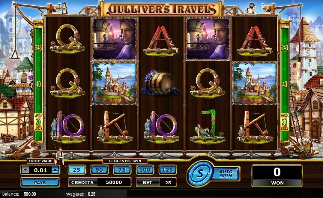 Gullivers Travels Pokie