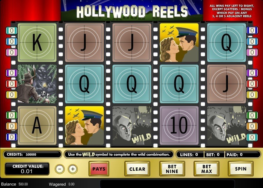Hollywood Reels Pokie