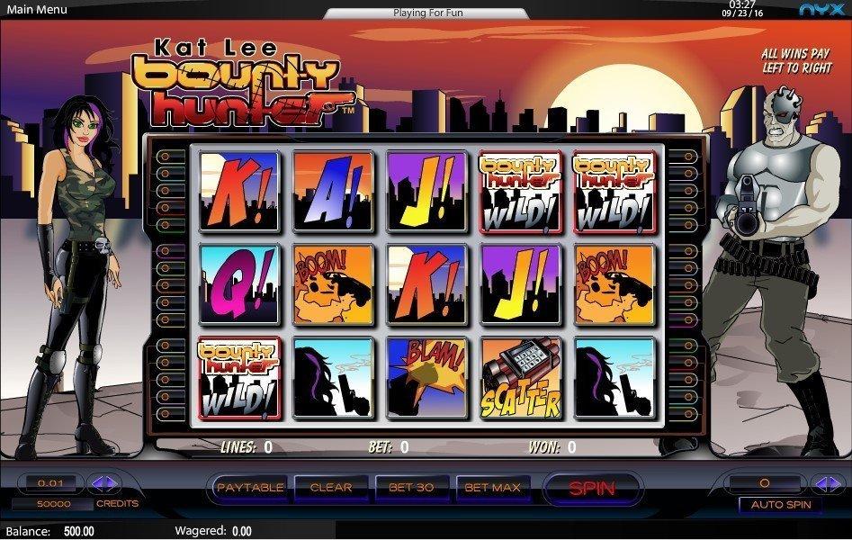 Spiele Kat Lee Bounty Hunter - Video Slots Online