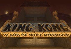 King Kong Island Of Skull Mountain Pokie Logo