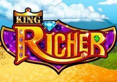 King Richer Pokie Logo