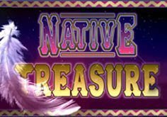 Native Treasure Pokie Logo