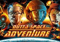 Outta Space Adventure Pokie Logo