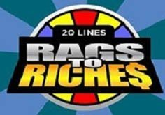 Rags To Riches Pokie Logo