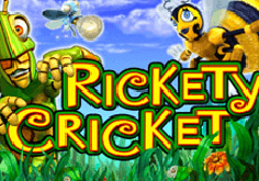 Rickety Cricket Pokie Logo