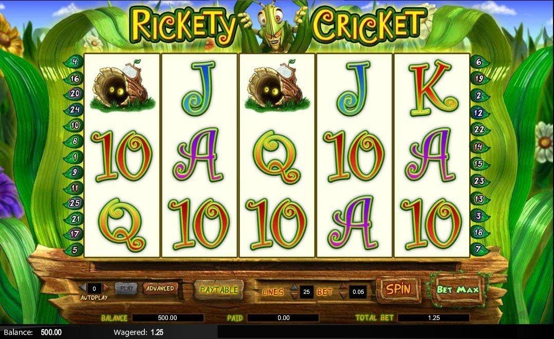 Spiele Rickety Cricket - Video Slots Online