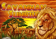 Savannah Sunrise Pokie Logo