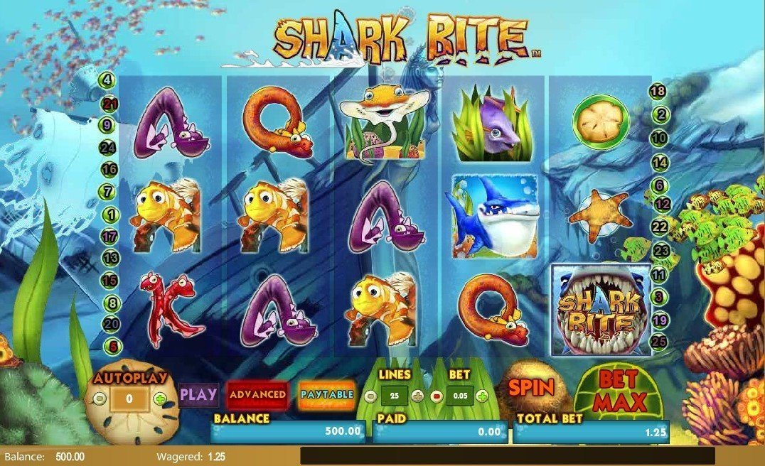Shark Bite Pokie