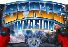 Space Invasion Pokie Logo